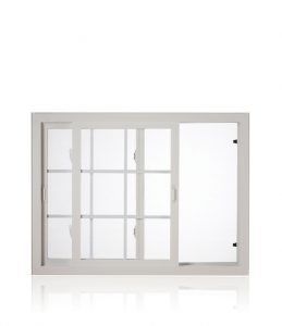 fiberglass horizontal slider window