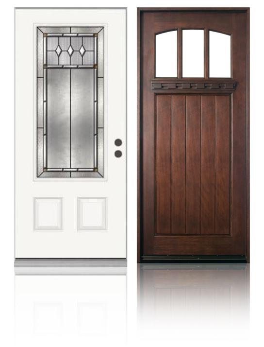 Fiberglass Entrance Door